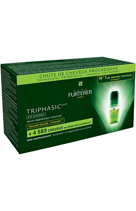 Cыворотка от выпадения волос Triphasic (8 ампул) Rene FurtererНаборы<br><br><br>Объем мл: 8<br>Пол: Женский<br>Возраст: Взрослый<br>Цвет: Бесцветный
