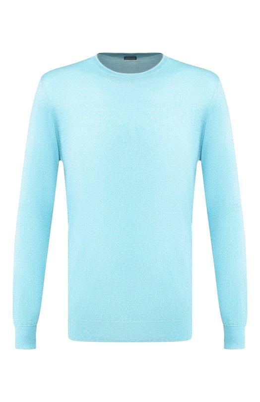 Вязаный пуловер KitonСвитеры<br>Бирюзовый пуловер прямого силуэта вошел в весенне-летнюю коллекцию 2016 года. Модель с круглым вырезом и длинными рукавами, дополненными резинкой, выполнена из тонкой и мягкой хлопковой пряжи. Советуем носить со светлыми брюками и лоферами.<br><br>Российский размер RU: 52<br>Пол: Мужской<br>Возраст: Взрослый<br>Размер производителя vendor: XL<br>Материал: Хлопок: 100%;<br>Цвет: Бирюзовый