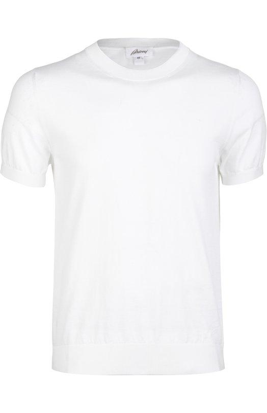 Вязаная футболка Brioni UMR0/P4K16