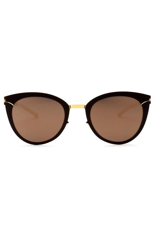 Солнцезащитные очки MykitaОчки<br>Солнцезащитные очки Priscilla вошли в весенне-летнюю коллекцию 2016 года. Для изготовления оправы с запатентованным шарнирным креплением мастера бренда использовали легкую полированную сталь и непрозрачный пластик черного цвета. На дужке выгравирован логотип марки.<br><br>Пол: Женский<br>Возраст: Взрослый<br>Размер производителя vendor: NS<br>Цвет: Черный