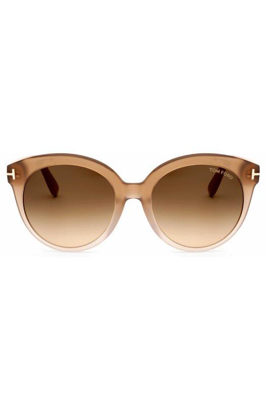 Солнцезащитные очки Tom FordОчки<br><br><br>Пол: Женский<br>Возраст: Взрослый<br>Размер производителя vendor: NS<br>Цвет: Бесцветный