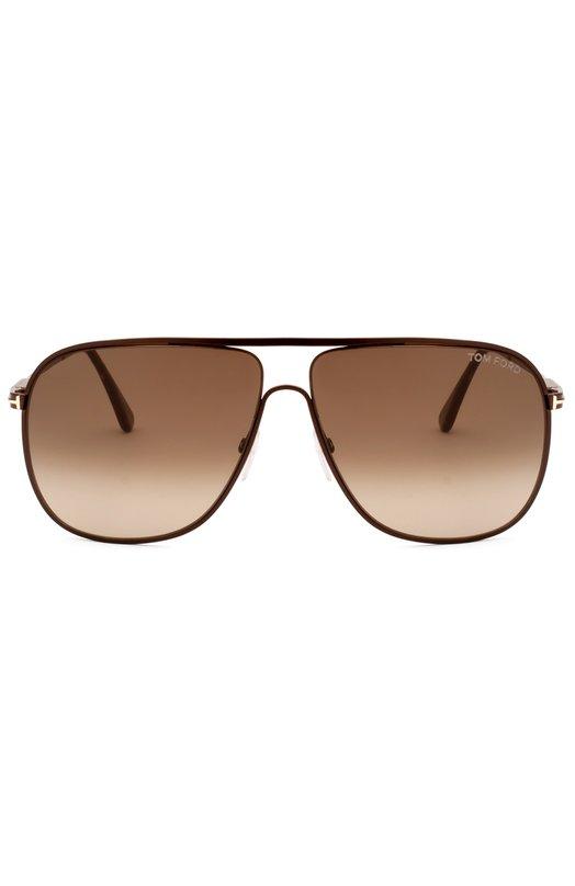 Солнцезащитные очки Tom FordОчки<br><br><br>Пол: Мужской<br>Возраст: Взрослый<br>Размер производителя vendor: NS<br>Цвет: Бесцветный