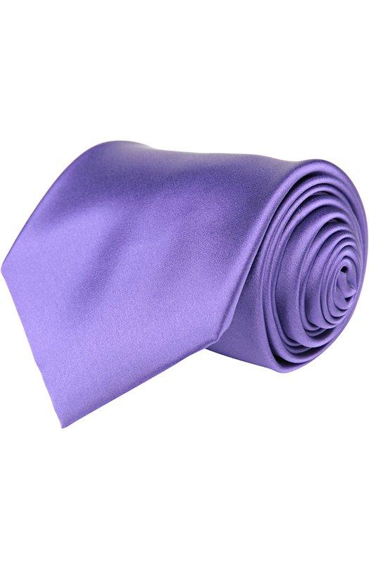 Галстук BrioniГалстуки<br>Галстук фиолетового цвета, выполненный вручную, вошел в коллекцию сезона весна-лето 2016 года. Мастера марки изготовили аксессуар из мягкого, приятного на ощупь атласного шелка. Нам нравится сочетать с белой рубашкой и однотонным костюмом.<br><br>Пол: Мужской<br>Возраст: Взрослый<br>Размер производителя vendor: NS<br>Материал: Шелк: 100%;<br>Цвет: Фиолетовый