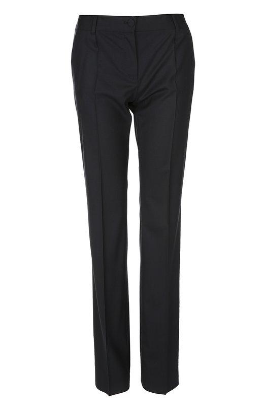 Купить Брюки Dolce & Gabbana, 0102/FTAH0T/FUBBG, Италия, Темно-синий, Шерсть: 97%; Эластан: 3%;