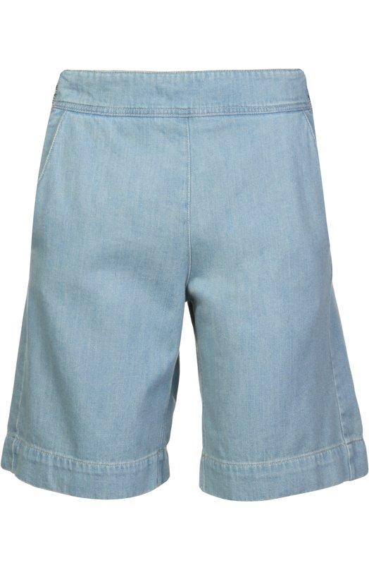 Джинсовые шорты Chlo?Шорты<br>Джинсовые шорты вошли в коллекцию сезона весна-лето 2016 года. При производстве изделия был использован мягкий хлопок голубого цвета. Модель застегивается сбоку на молнию. Рекомендуем сочетать с рубашкой аналогичного цвета, небольшой сумкой и коричневыми босоножками.<br><br>Российский размер RU: 40<br>Пол: Женский<br>Возраст: Взрослый<br>Размер производителя vendor: 34<br>Материал: Хлопок: 100%;<br>Цвет: Голубой