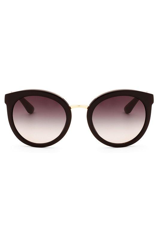 Купить Солнцезащитные очки Dolce & Gabbana, 4268-501/8G, Италия, Черный