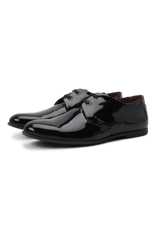 Лаковые туфли на шнуровке Dolce & Gabbana 0132/DA0250/A1328/29-36