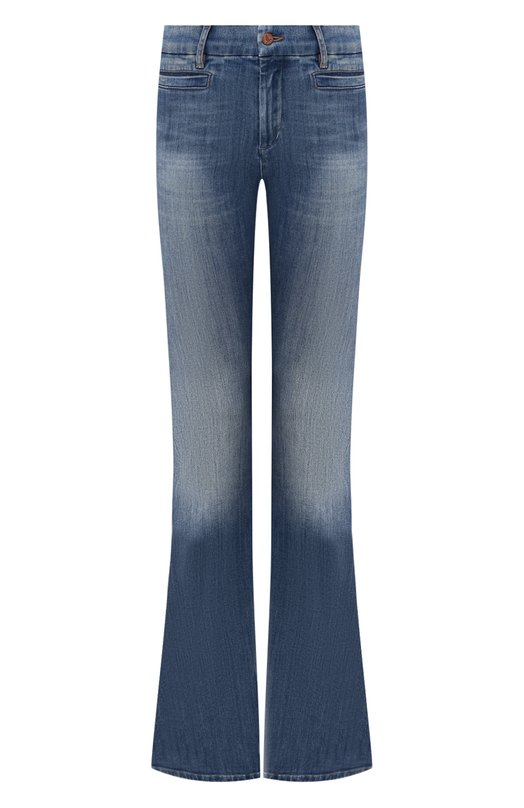 Джинсы MiH JeansДжинсы<br>В коллекцию сезона весна-лето 2016 года вошла модель Marrakesh. Выбеленные джинсы клеш выполнены мастерами марки из эластичного хлопка голубого цвета. Изделие дополнено двумя боковыми врезными и задними накладными карманами.<br><br>Российский размер RU: 46<br>Пол: Женский<br>Возраст: Взрослый<br>Размер производителя vendor: 28<br>Материал: Хлопок: 92%; Эластомультиэстер: 6%; Эластан: 2%;<br>Цвет: Голубой
