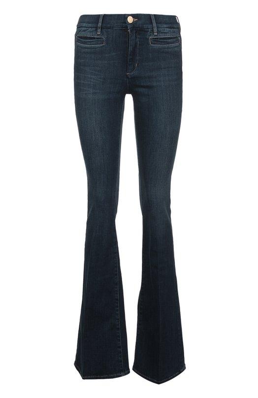 Джинсы MiH JeansДжинсы<br>Синие джинсы клеш с декоративными потертостями выполнены мастерами марки из эластичного мягкого денима темно-синего цвета. Модель Marrakesh вошла в коллекцию сезона весна-лето 2016 года. Наши стилисты рекомендуют сочетать с бежевым пуловером и черными босоножками.<br><br>Российский размер RU: 40<br>Пол: Женский<br>Возраст: Взрослый<br>Размер производителя vendor: 25<br>Материал: Хлопок: 92%; Эластомультиэстер: 6%; Эластан: 2%;<br>Цвет: Синий
