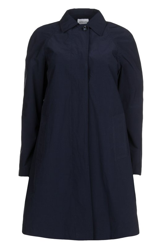 Плащ с длинным рукавом и боковыми карманами Armani Collezioni TML63T/TM709