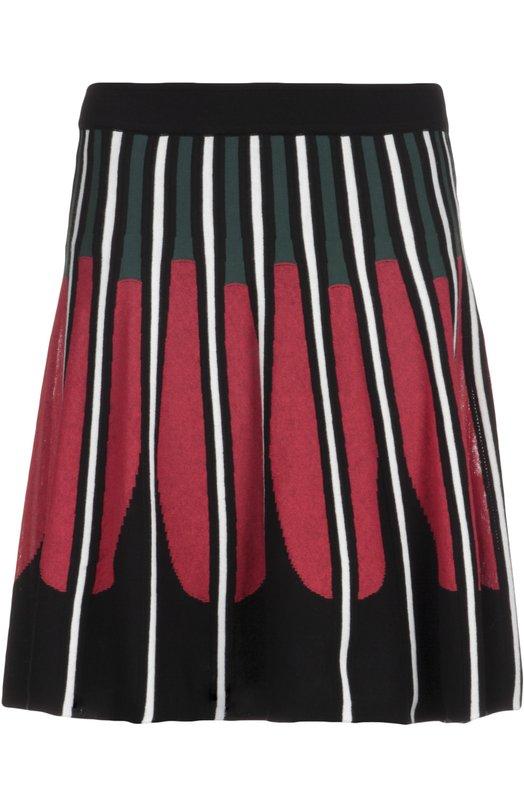 Вязаная юбка со складками и контрастным принтом M Missoni KD0KG04D/230