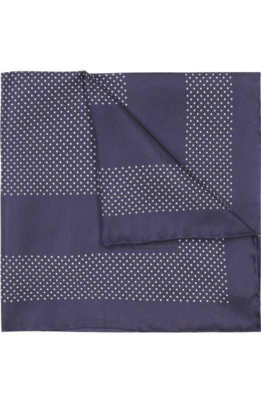Платок Tom FordГалстуки<br><br><br>Пол: Мужской<br>Возраст: Взрослый<br>Размер производителя vendor: NS<br>Материал: Шелк: 100%;<br>Цвет: Темно-синий