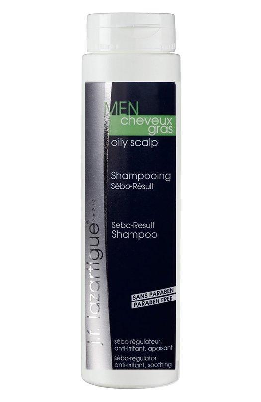 Регулирующий шампунь для нормальных и комбинированных волос J.F. LazartigueДля волос<br><br><br>Объем мл: 200<br>Пол: Мужской<br>Возраст: Взрослый<br>Цвет: Бесцветный