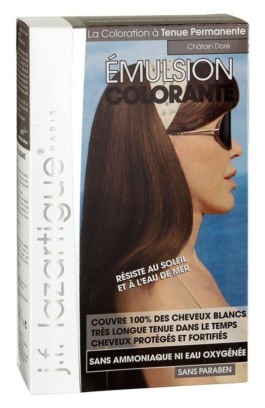 Красящая эмульсия Золотистый каштан J.F. LazartigueКраски для волос<br><br><br>Объем мл: 60<br>Пол: Женский<br>Возраст: Взрослый<br>Цвет: Бесцветный