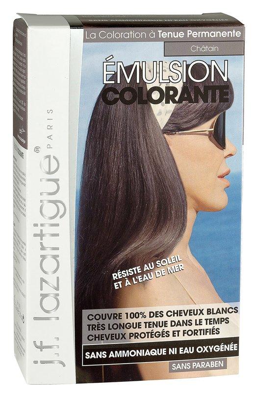 Красящая эмульсия Каштан J.F. LazartigueКраски для волос<br><br><br>Объем мл: 60<br>Пол: Женский<br>Возраст: Взрослый<br>Цвет: Бесцветный
