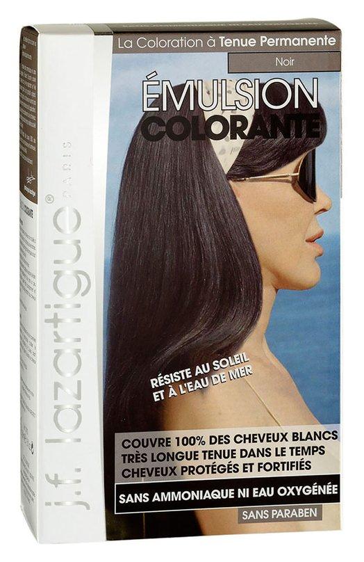 Красящая эмульсия Черный J.F. LazartigueКраски для волос<br><br><br>Объем мл: 60<br>Пол: Женский<br>Возраст: Взрослый<br>Цвет: Бесцветный