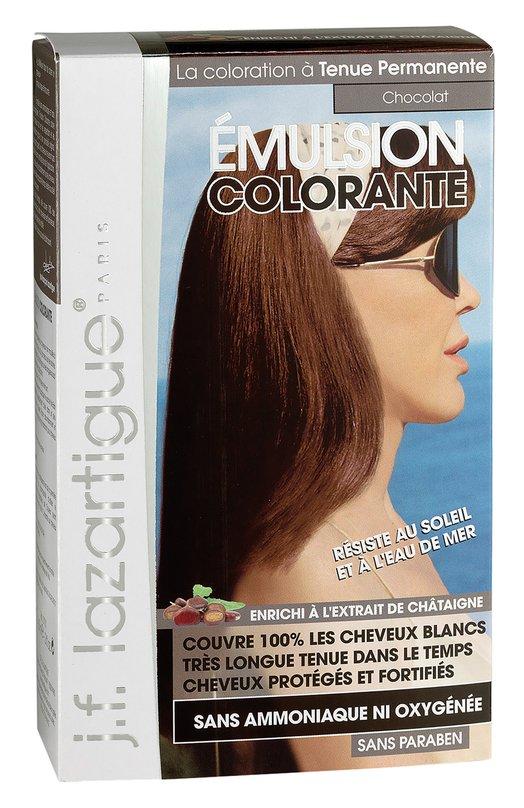 Красящая эмульсия Шоколад J.F. LazartigueКраски для волос<br><br><br>Объем мл: 60<br>Пол: Женский<br>Возраст: Взрослый<br>Цвет: Бесцветный