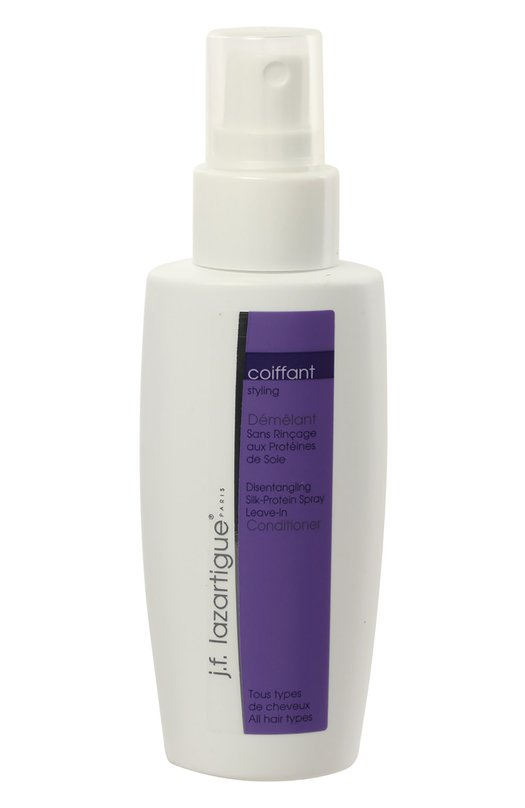 Спрей с протеинами шелка для предотвращения спутывания волос J.F. LazartigueСредства для укладки<br><br><br>Объем мл: 100<br>Пол: Женский<br>Возраст: Взрослый<br>Цвет: Бесцветный