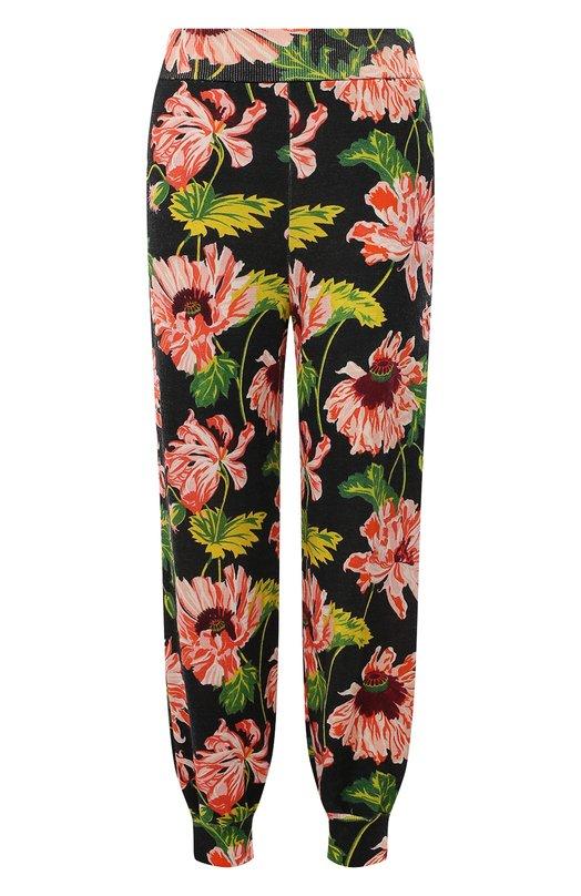 Вязаные брюки Stella McCartneyБрюки<br><br><br>Российский размер RU: 40<br>Пол: Женский<br>Возраст: Взрослый<br>Размер производителя vendor: 38<br>Материал: Шерсть: 100%;<br>Цвет: Черный