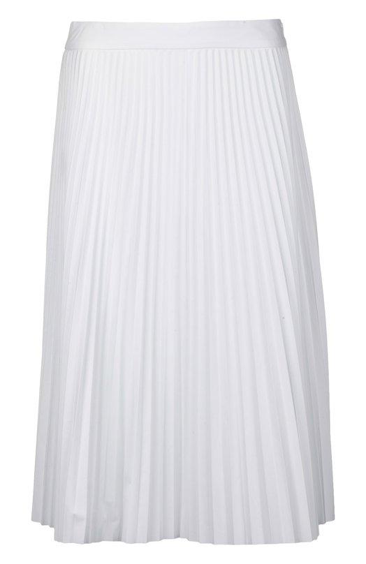 Плиссированная хлопковая юбка-миди Joseph S6/155/313196