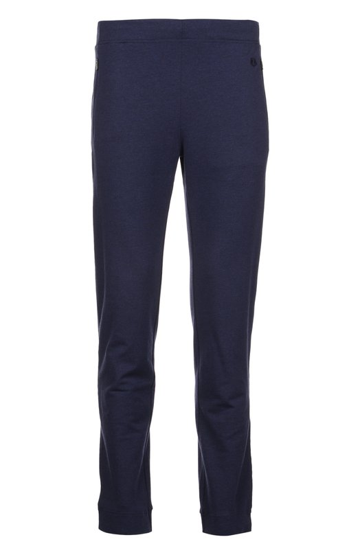Брюки джерси Z ZegnaБрюки<br>Синие брюки вошли в весенне-летнюю коллекцию бренда, основанного семьей Зенья. Модель сшита из мягкого хлопкового джерси. Два боковых кармана застегиваются на потайные молнии. Предлагаем носить с белой футболкой, толстовкой в тон и кроссовками.<br><br>Российский размер RU: 50<br>Пол: Мужской<br>Возраст: Взрослый<br>Размер производителя vendor: L<br>Материал: Хлопок: 57%; Эластан: 5%; Вискоза: 38%;<br>Цвет: Синий