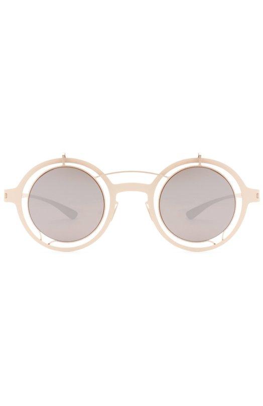 Очки солнцезащитные MykitaОчки<br>Солнцезащитные очки Madeleine созданы мастерами бренда в сотрудничестве с маркой Damir Doma из тонкой листовой стали с матовым напылением. Тонированные зеркальные линзы обработаны антиабразивным покрытием.<br><br>Пол: Женский<br>Возраст: Взрослый<br>Размер производителя vendor: NS<br>Цвет: Золотой