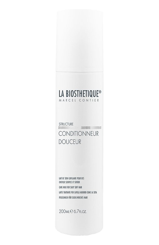 Кондиционер для мгновенного придания шелковистости волосам La BiosthetiqueМаски / Сыворотки<br><br><br>Объем мл: 200<br>Пол: Женский<br>Возраст: Взрослый<br>Цвет: Бесцветный