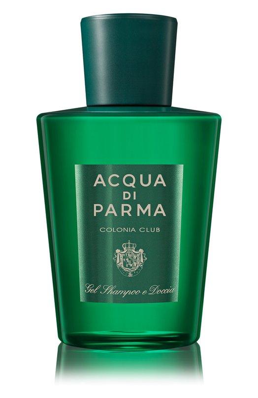 Гель для тела и волос Colonia Club Acqua di ParmaСредства для душа и ванны<br><br><br>Объем мл: 200<br>Пол: Мужской<br>Возраст: Взрослый<br>Цвет: Бесцветный