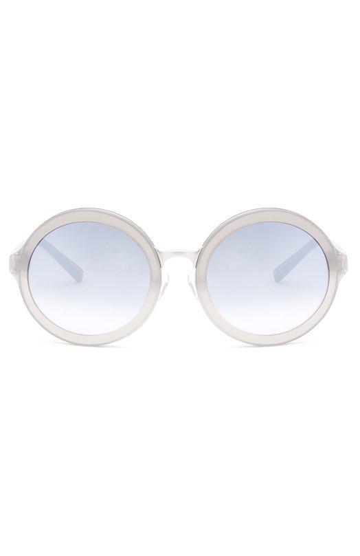 Очки солнцезащитные 3.1 Phillip LimОчки<br>Круглые солнцезащитные очки изготовлены из комбинации тонкого металла и полупрозрачного ацетата. Светло-серые градиентные линзы на 100% блокируют ультрафиолетовое и инфракрасное излучение. Дужки декорированы металлической вставкой с логотипом бренда, основанного Филлипом Лимом.<br><br>Пол: Женский<br>Возраст: Взрослый<br>Размер производителя vendor: NS<br>Цвет: Прозрачный