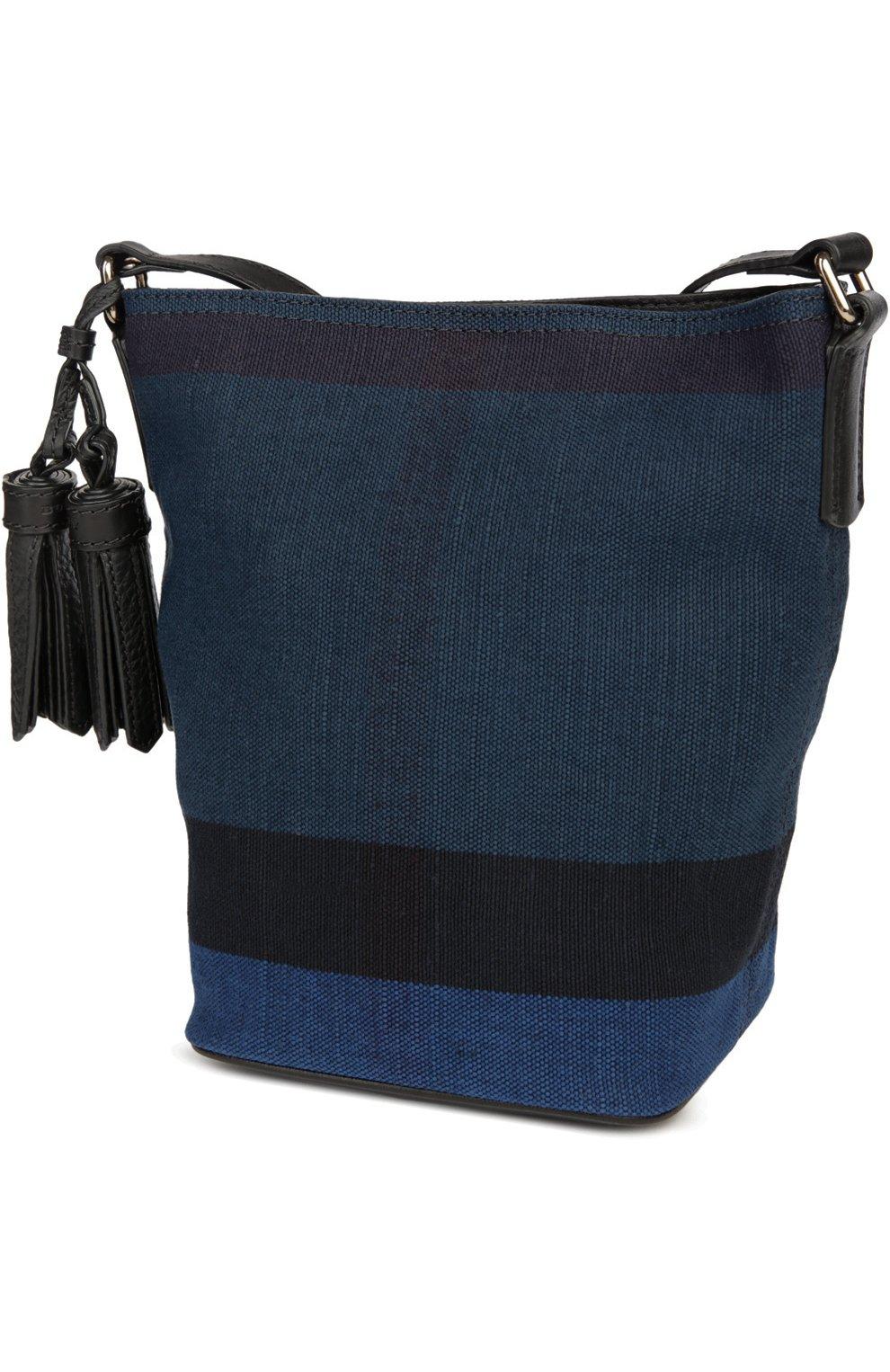 Женская синяя сумка BURBERRY - tsumru
