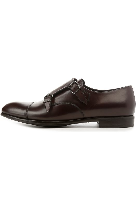 Туфли Giorgio ArmaniТуфли<br>Двойные монки, изготовленные вручную, вошли в весенне-летнюю коллекцию 2016 года. Для производства модели на невысоком квадратном каблуке мастера бренда, основанного Джорджио Армани, использовали матовую гладкую кожу бордового цвета.<br><br>Российский размер RU: 43<br>Пол: Мужской<br>Возраст: Взрослый<br>Размер производителя vendor: 9-5<br>Материал: Кожа натуральная: 100%; Стелька-кожа: 100%; Подошва-резина: 100%;<br>Цвет: Бордовый
