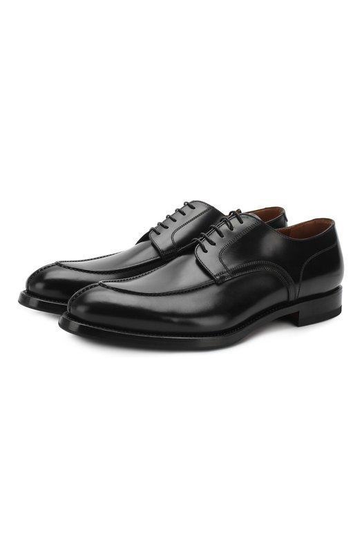 Туфли W.GibbsТуфли<br>Для изготовления дерби черного цвета мастера бренда использовали гладкую мягкую кожу с матовым блеском. Модель с открытым типом шнуровки, на тонкой подошве и невысоком квадратном каблуке выполнена вручную.<br><br>Российский размер RU: 41<br>Пол: Мужской<br>Возраст: Взрослый<br>Размер производителя vendor: 41-5<br>Материал: Кожа натуральная: 100%; Стелька-кожа: 100%; Подошва-кожа: 100%; Подошва-резина: 100%;<br>Цвет: Черный