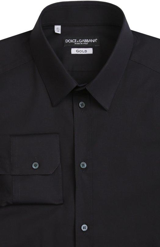 Приталенная сорочка с воротником кент Dolce & Gabbana 0101/G5DE1T/FUEAJ