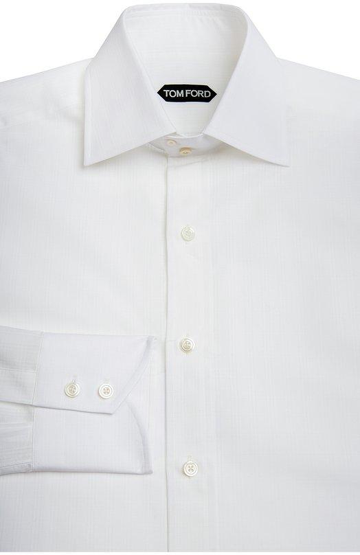 Купить Сорочка Tom Ford, 7FT10894C1IG, Италия, Белый, Хлопок: 100%;