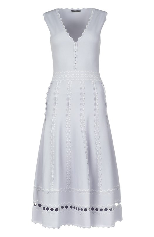 Платье вязаное Alexander McQueen 417509/Q1RNI