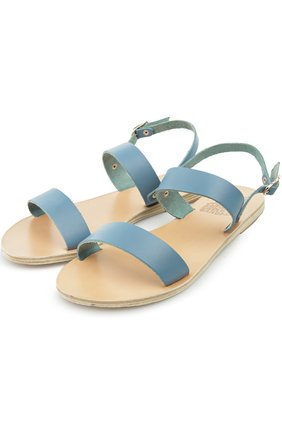 Сандалии Ancient Greek Sandals голубые | Фото №1