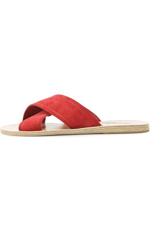 Замшевые шлепанцы Thais Ancient Greek Sandals THAIS/C0W LEATHER