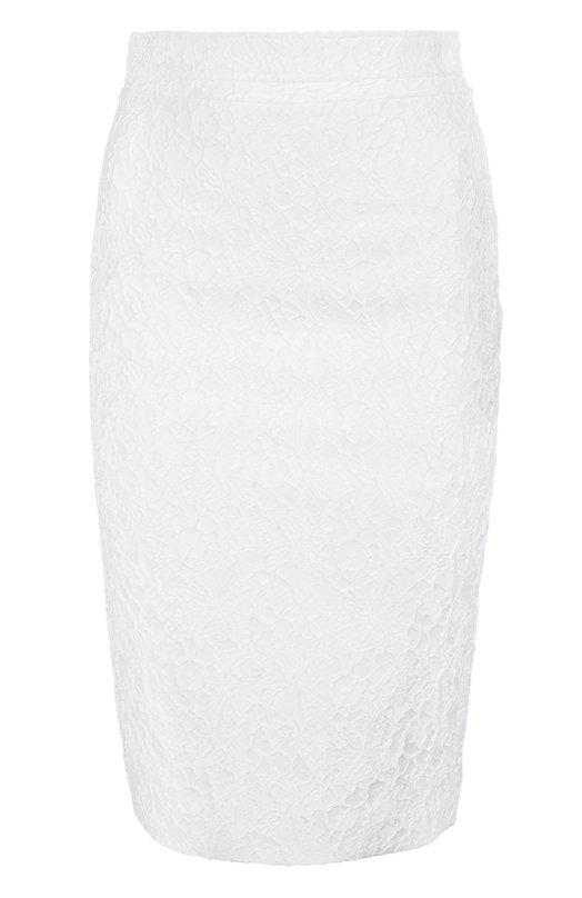 Юбка GivenchyЮбки<br>Рикардо Тиши включил в весенне-летнюю коллекцию бренда, основанного Юбером де Живанши, белую юбку-карандаш. Для производства модели на шелковой подкладке было использовано тонкое кружево с цветочным узором. Наши стилисты рекомендуют сочетать с джинсовой рубашкой и серебристыми босоножками.<br><br>Российский размер RU: 42<br>Пол: Женский<br>Возраст: Взрослый<br>Размер производителя vendor: 36<br>Материал: Полиэстер: 96%; Подкладка-ацетат: 71%; Полиамид: 3%; Подкладка-шелк: 29%; Эластан: 1%;<br>Цвет: Белый