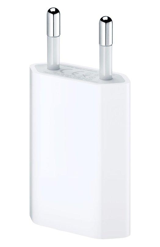 Адаптер Apple 5W AppleЗарядные устройства<br><br><br>Пол: Женский<br>Возраст: Взрослый<br>Размер производителя vendor: NS<br>Цвет: Белый