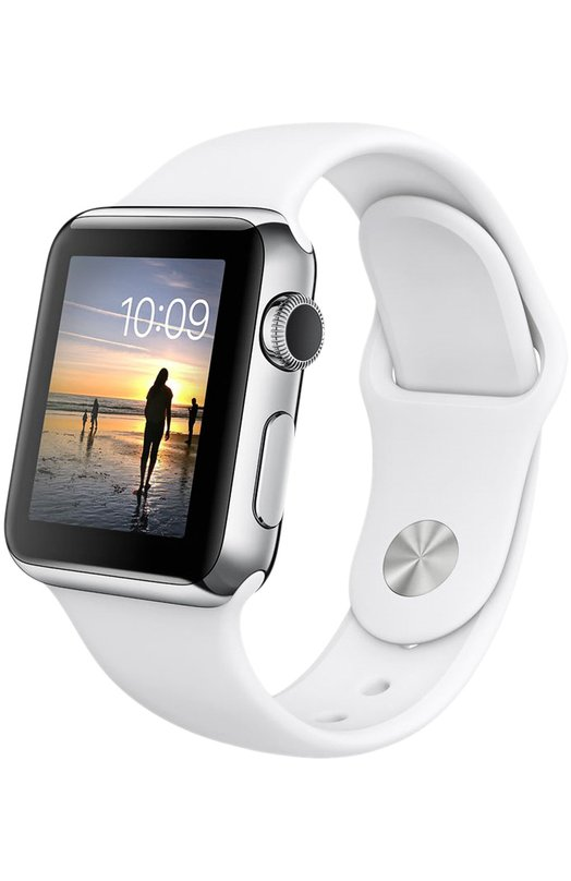 Apple Watch 38mm Silver Stainless Steel Case with Sport Band