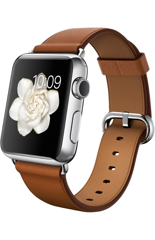 Apple Watch 38mm Silver Stainless Steel Case with Classic Buckle