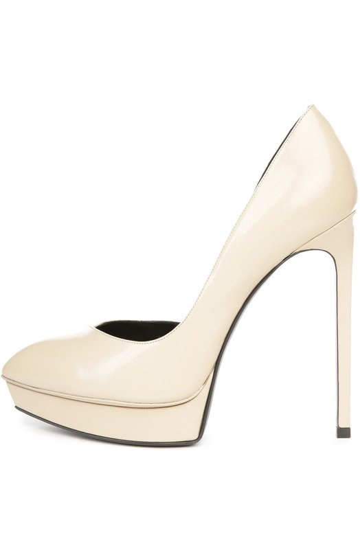 1a5b19b8488f Фото Кожаные туфли Janis на шпильке Saint Laurent Италия 5065267  416523 AEG00