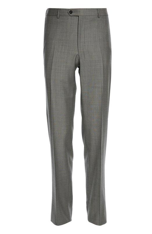 Шерстяные брюки прямого кроя Lanvin RMTR0001-D00500P16