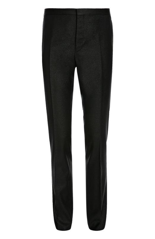 Шерстяные брюки с добавлением серебристых нитей Lanvin RMTR0027-M06100P16