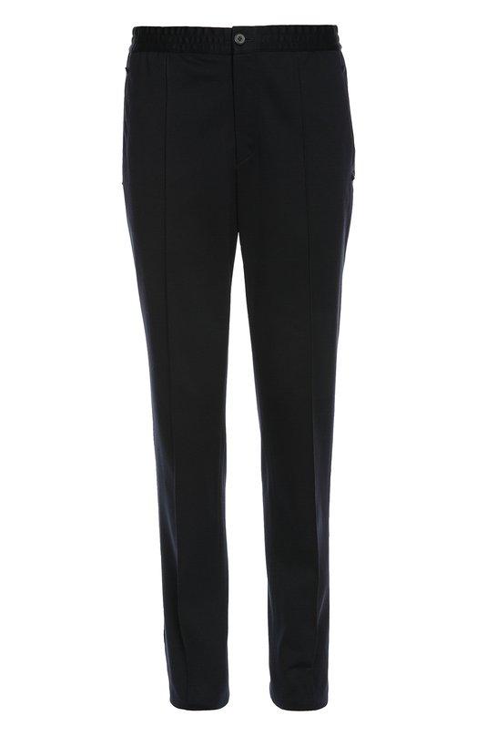 Хлопковые брюки с поясом на резинке Lanvin Contemporary RMTR0011P16