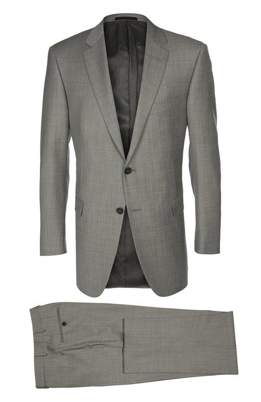 Шерстяной приталенный костюм Lanvin RMSU0001-D00500P16