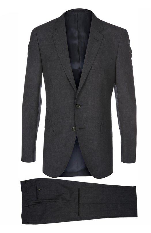 Шерстяной приталенный костюм Lanvin RMSU0004-D03500P16