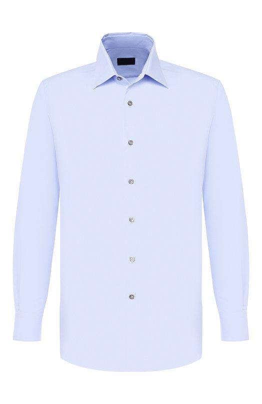 Купить Хлопковая сорочка с воротником кент Lanvin Италия 5035857 RMSI0012-S00300PER