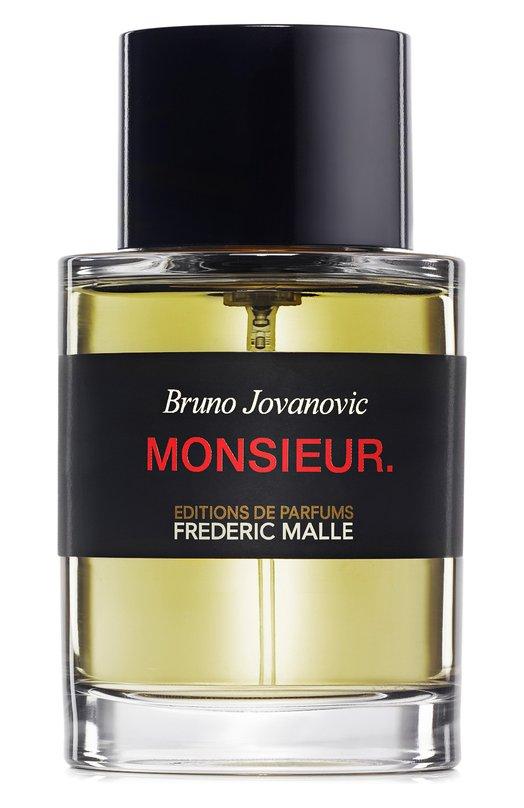 Парфюмерная вода Monsieur Frederic MalleАроматы для мужчин<br><br><br>Объем мл: 100<br>Пол: Женский<br>Возраст: Взрослый<br>Цвет: Бесцветный