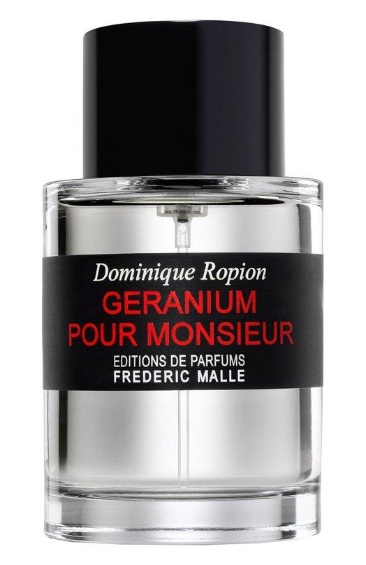 Купить Парфюмерная вода Geranium Pour Monsieur Frederic Malle, 3700135001718, Франция, Бесцветный
